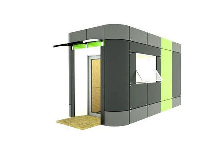Easily and quickly installed, versatile prefabs for rent or purchase