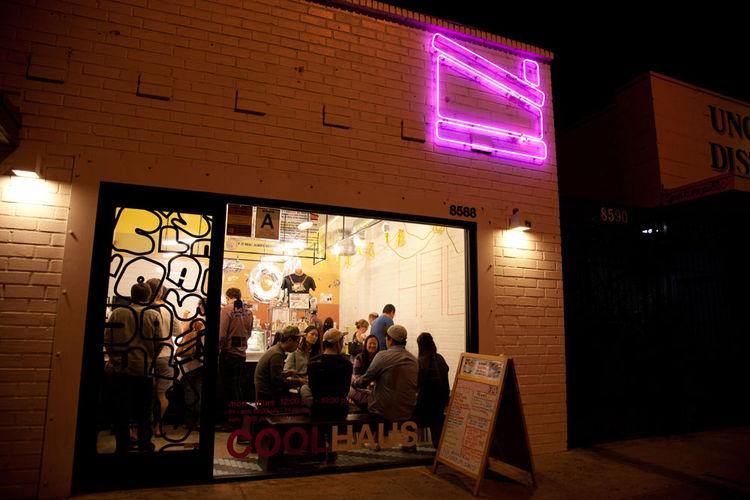 Coolhaus ice cream shop in Culver City