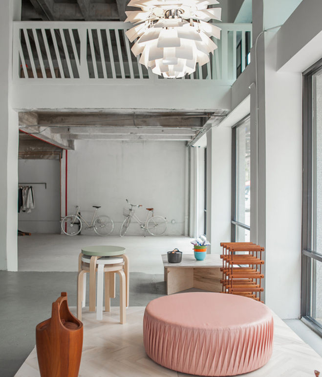 Modern Norwegian design store in Los Angeles