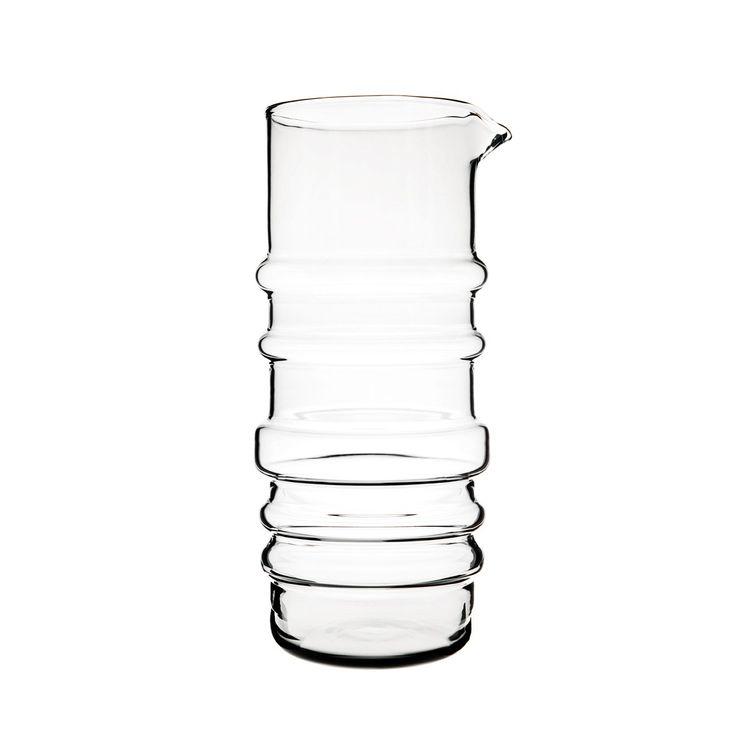 Modern glass vase by Scandinavian designer