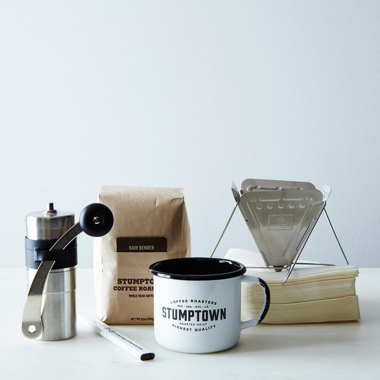 travel coffee set from stumptown