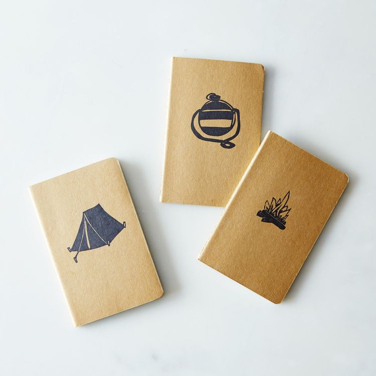 bundle of camping themed notebooks