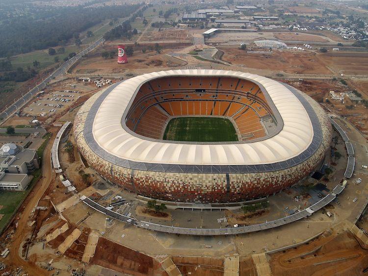 Soccer City Stadium in Johannesburg, South Africa