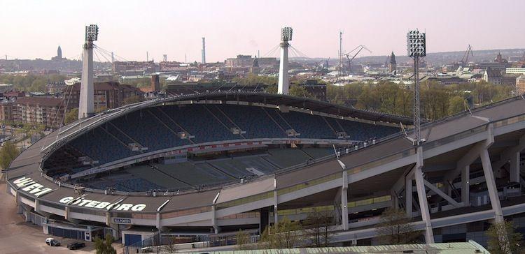 Ullevi Stadium in Gothenburg, Sweden