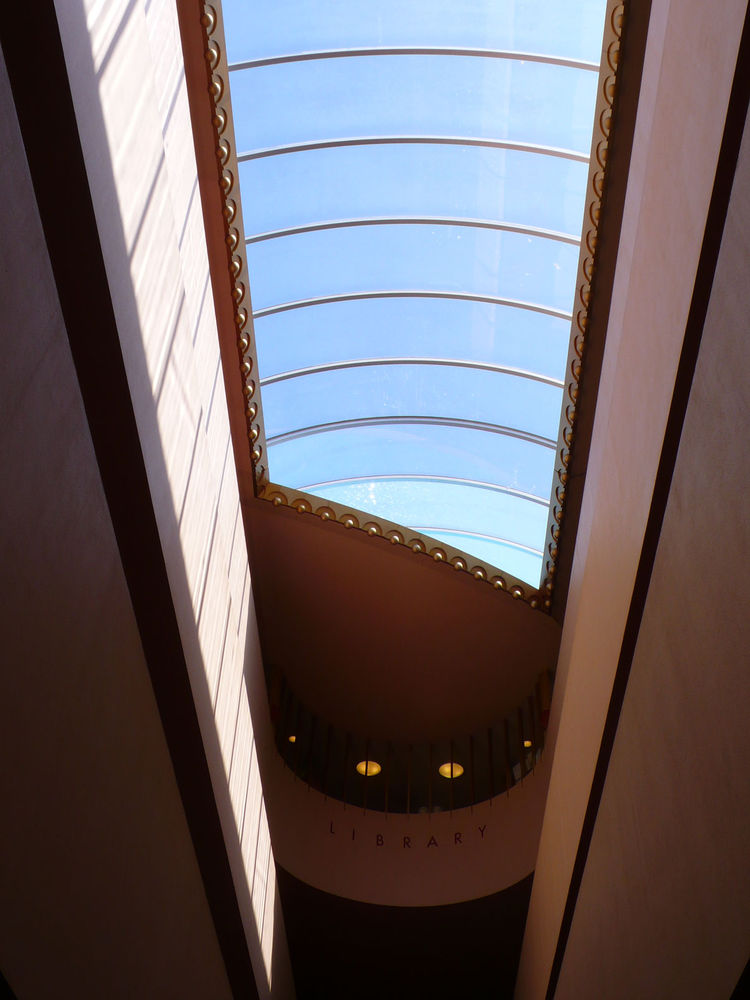 Frank Lloyd Wright's Marin Civic Center in San Rafael, California