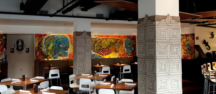 modern, colorful mexican restaurant in pittsburgh