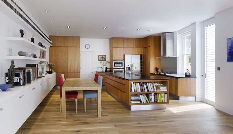 Milman Road Renovation: Kitchen and Shared Space