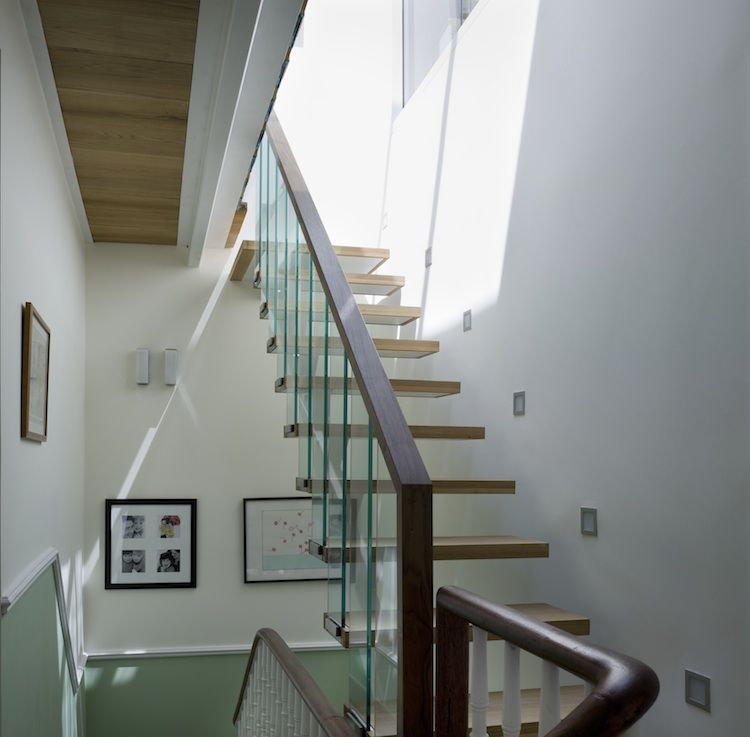 Staircase in the Milman Road Renovation on London, by Syte Architecture
