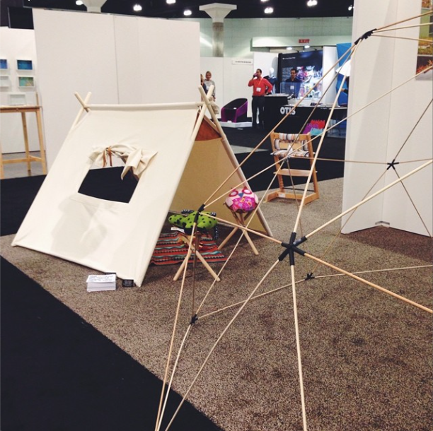 dome structure for kids from play assembly at dwell on design