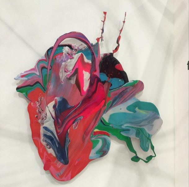 colorful felicity nove wallhanging sculpture