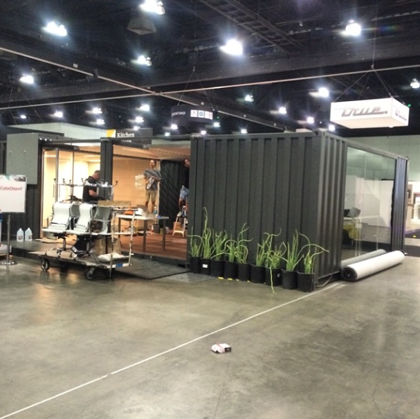shipping container house at dwell on design