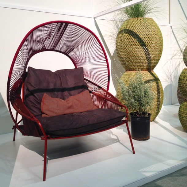 stephen burks traveler chair at dwell on design