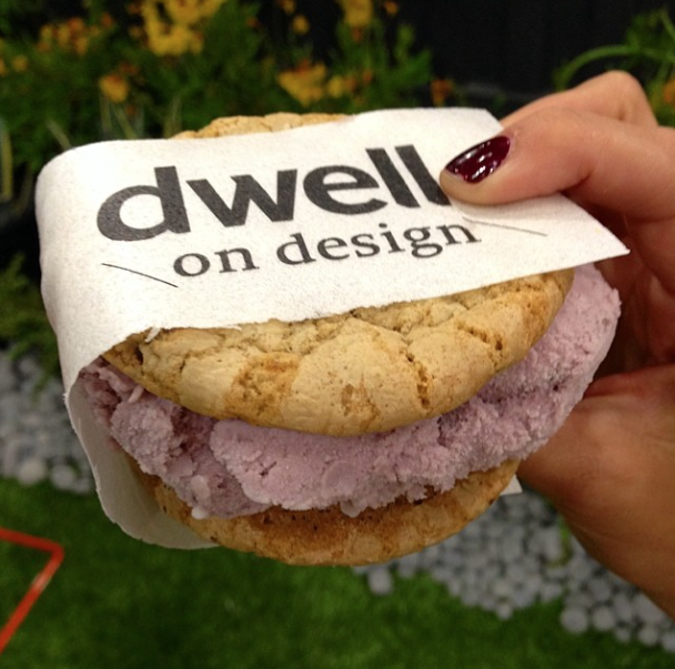 dwell on de-vine ice cream sandwich by coolhaus at dwell on design