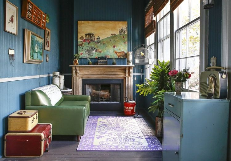 Artist Miranda Lake home in New Orleans