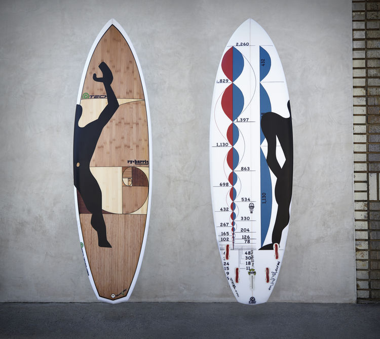 David Hertz surfboard