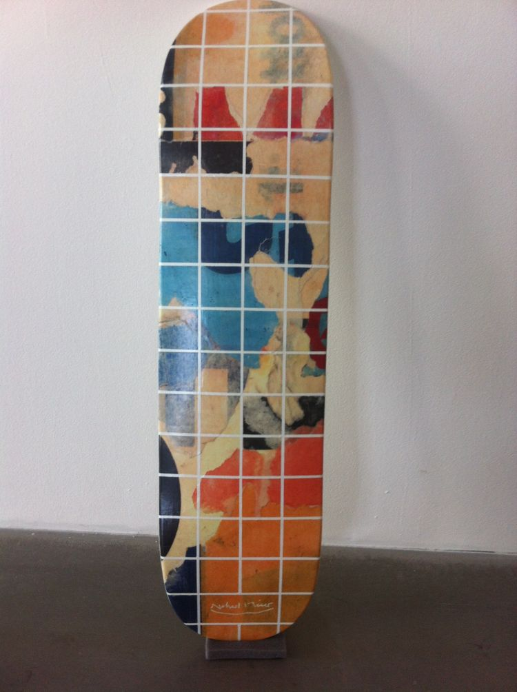 Richard Meier skateboard
