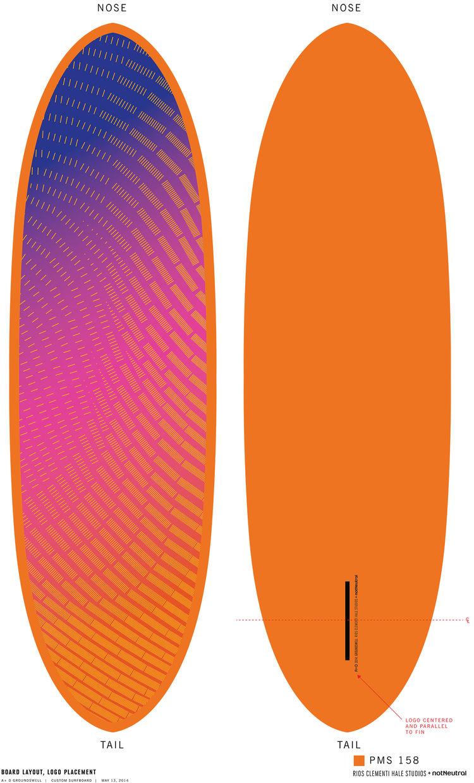 Rios Clementi Hale surfboard