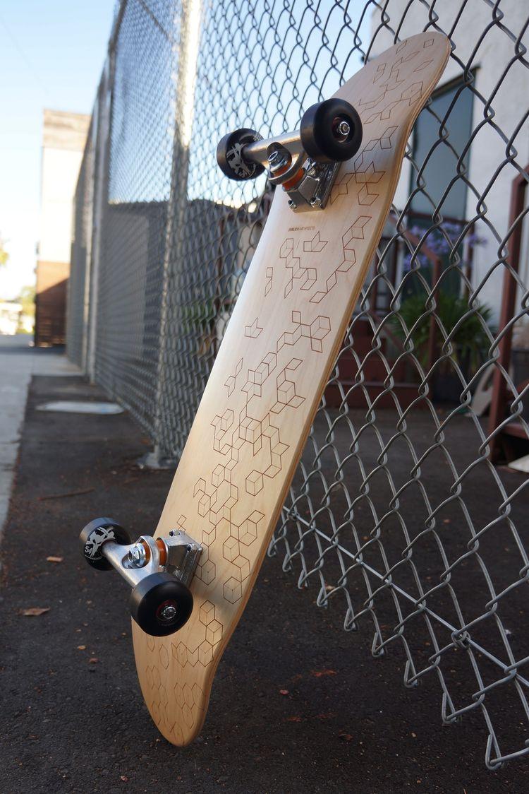 Venice architect Steven Ehrlich skateboard