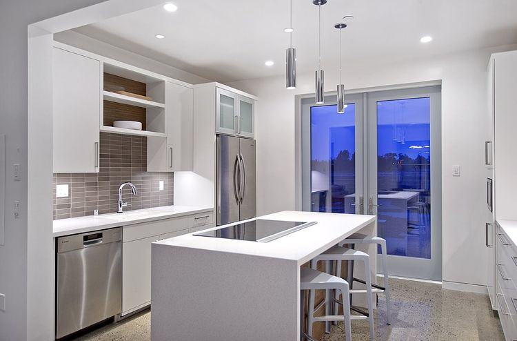 UC Davis and Honda Smart Home kitchen