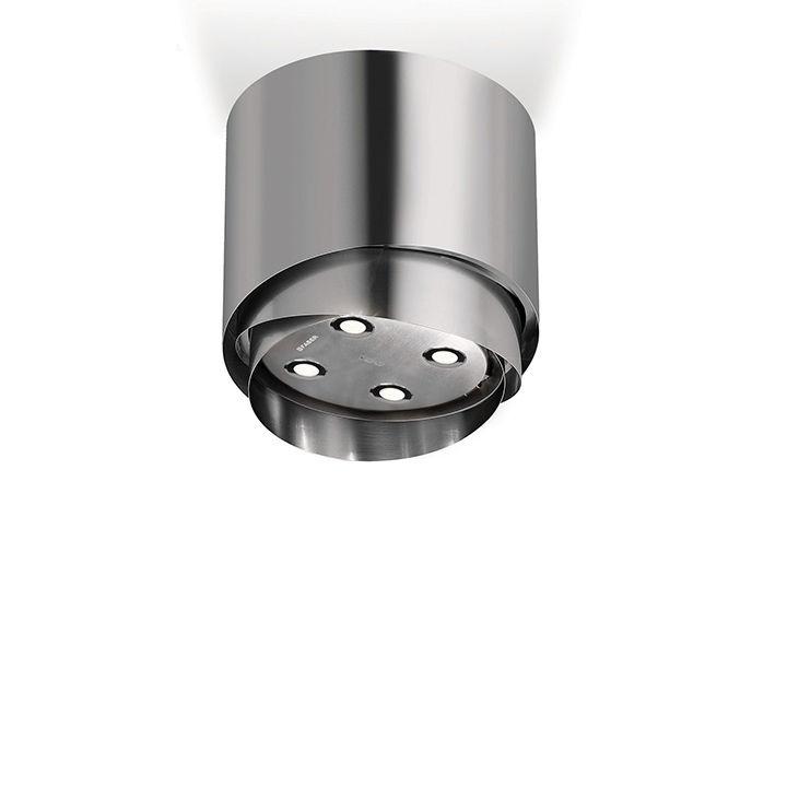 Metal telescoping light and hood