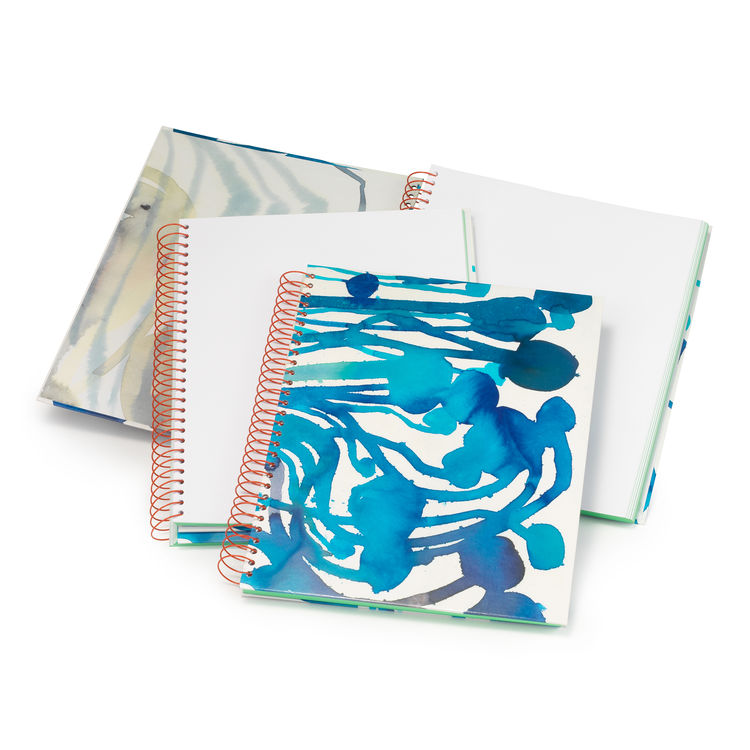 Plumb spiral watercolor notebooks.