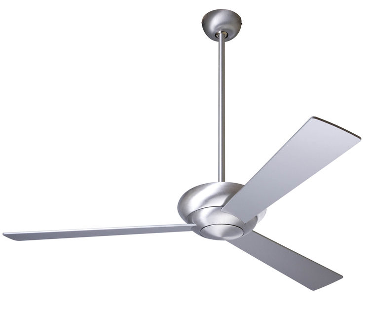 Elegant three-blade drop pendulum ceiling fan