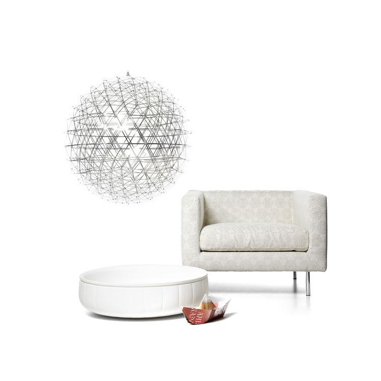 geometrical spherical pendant light