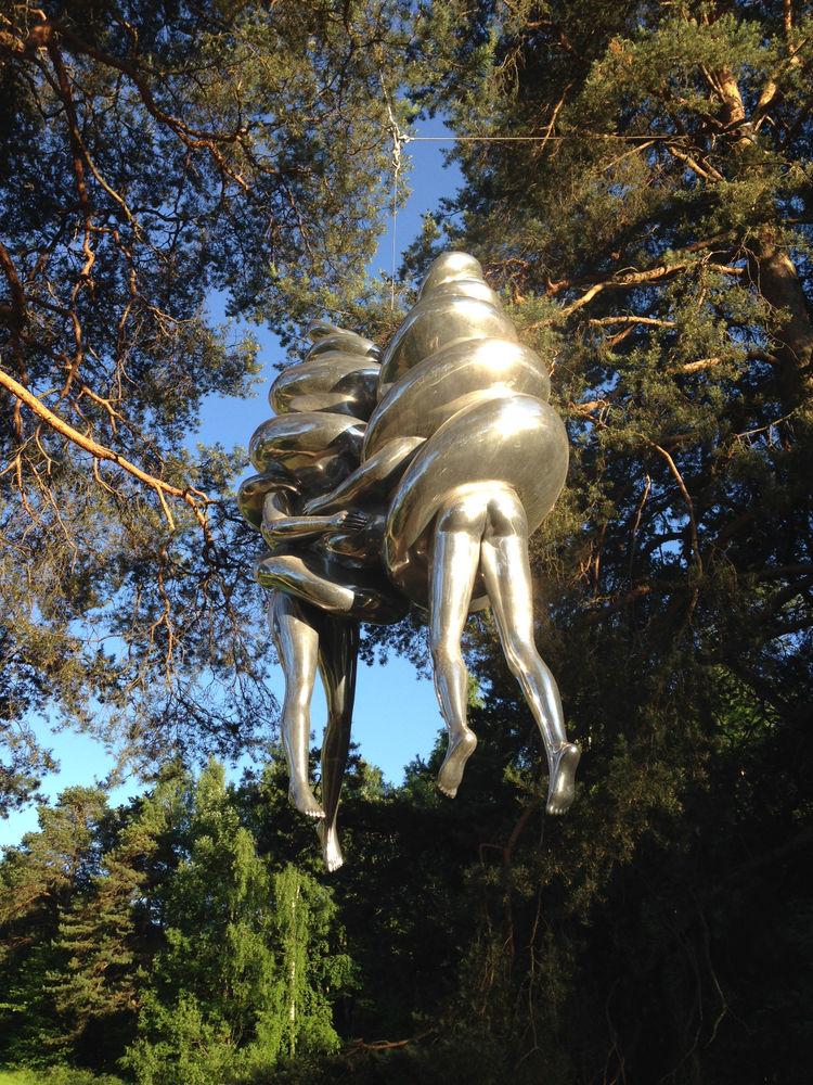 Louise Bourgeois Ekeberg Sculpture Park in Oslo.