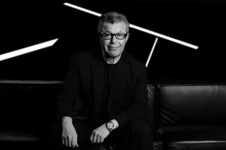 Architect Daniel Libeskind portrait