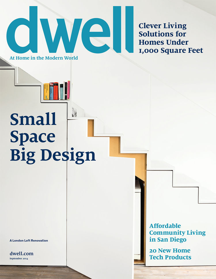 Dwell September 2014 issue cover