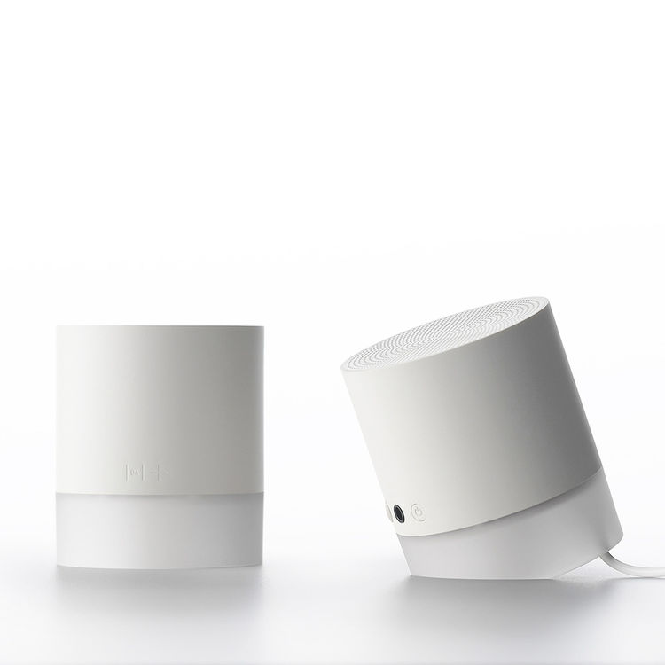 portable cylindrical speakers
