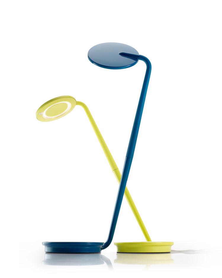 colorful, flexible desk lamp