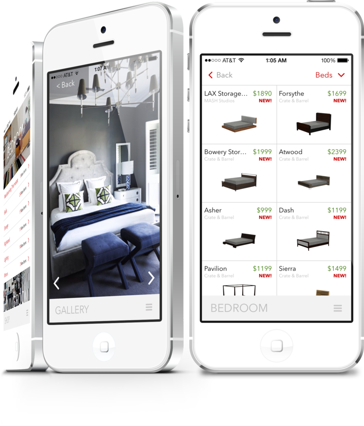 Furnish app e-commerce bed shopping