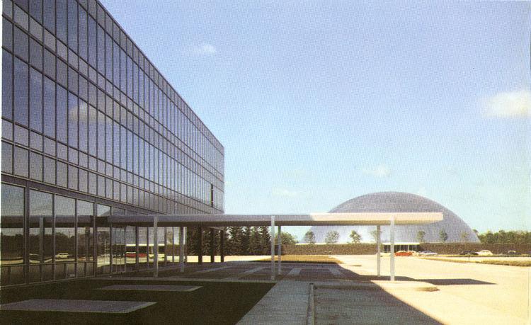 General Motors Technical Center built in 1950s