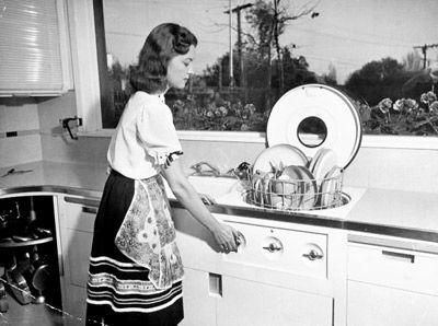 "Life Magazine archive image ""kitchen of tomorrow"" dream kitchen"