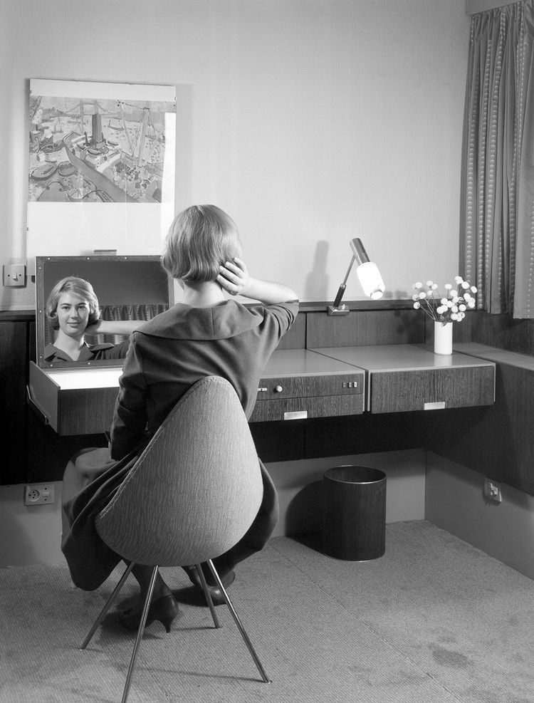 SAS Copenhagen Hotel Room Archival