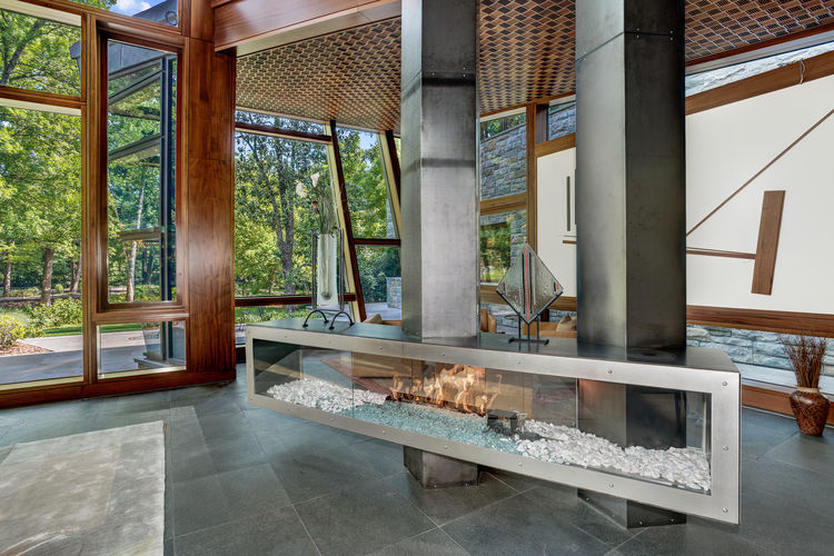 A residence designed by David Jameson in Bethesda, Maryland.