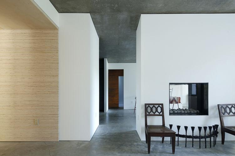 Hidden House hallway