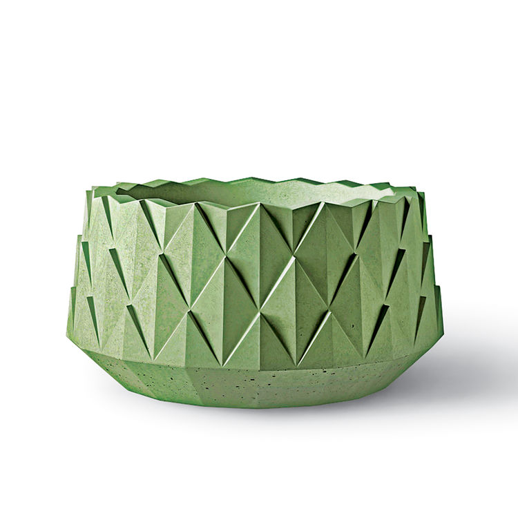 agave planter kornegay design concrete