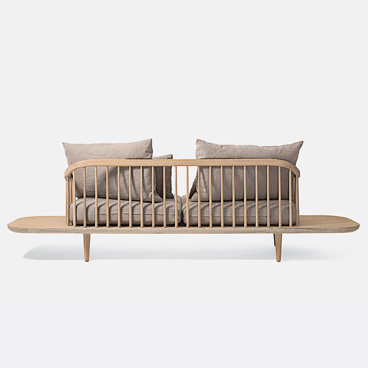 modern furniture design frame structure &Tradition Fly sofa