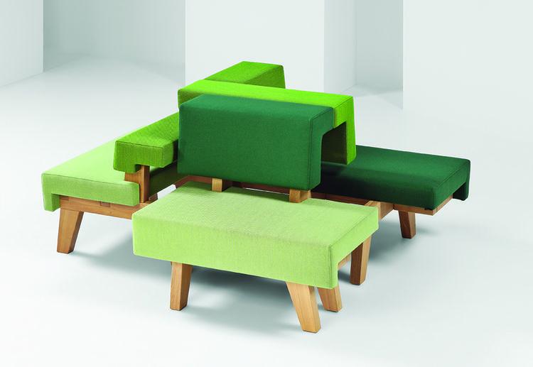 modern workplace furniture Mikkink & Bey modular worksofa