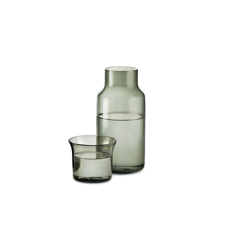 luxe carafe niche modern glass