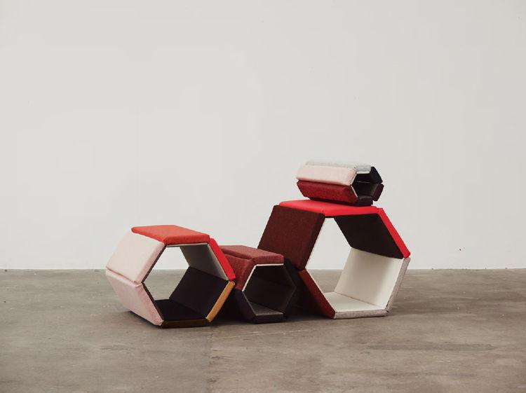 modern fabric textile kvadrat Milan Salone Werner Aisslinger
