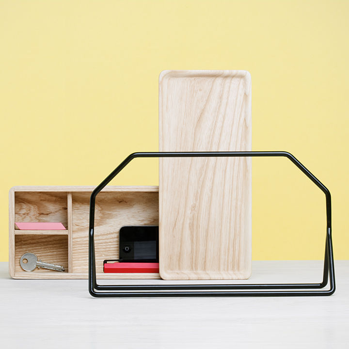 Modular office caddy by Umbra Shift.