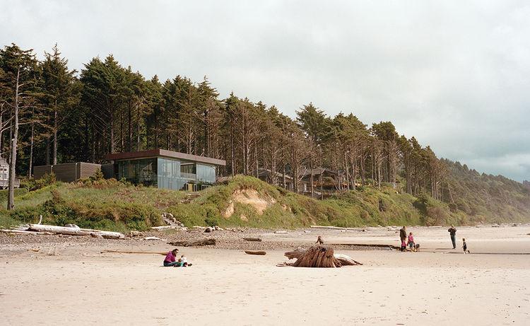 secluded beach house oregon USA