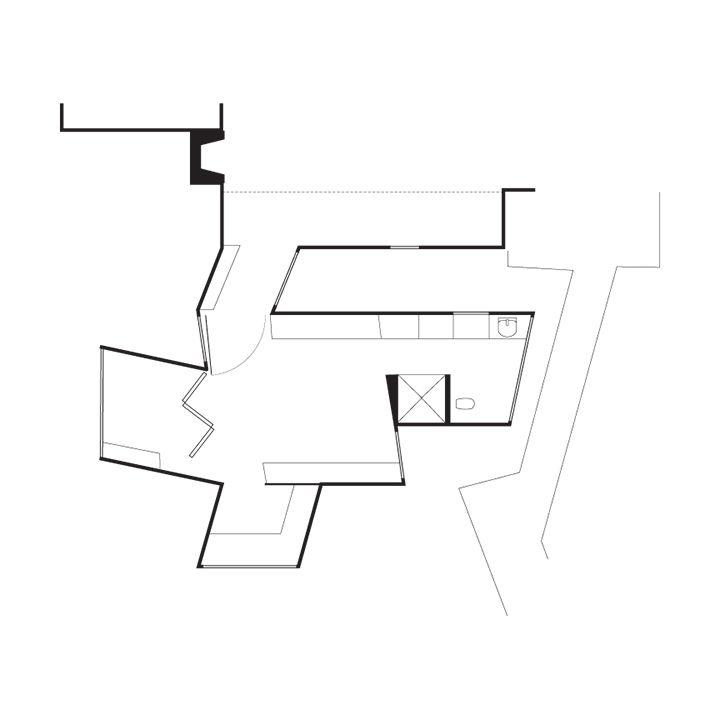Modern addition for an Alzheimer's patient floor plans