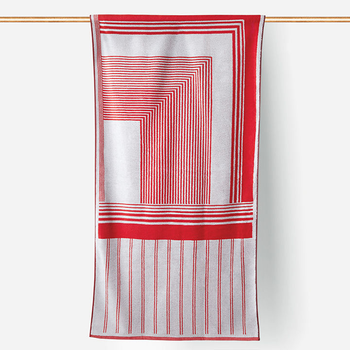 modern made in america products USA southeast tabula rasa isoline beach towel
