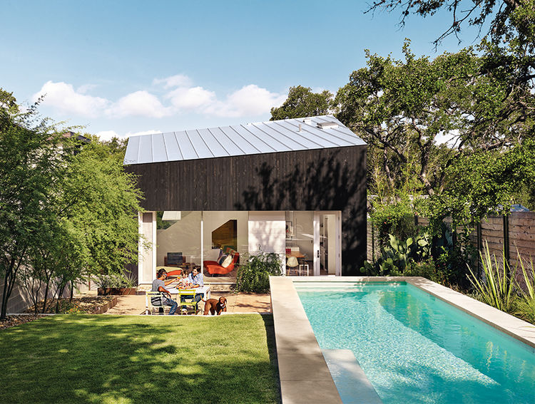 Paneling And Metal Roof