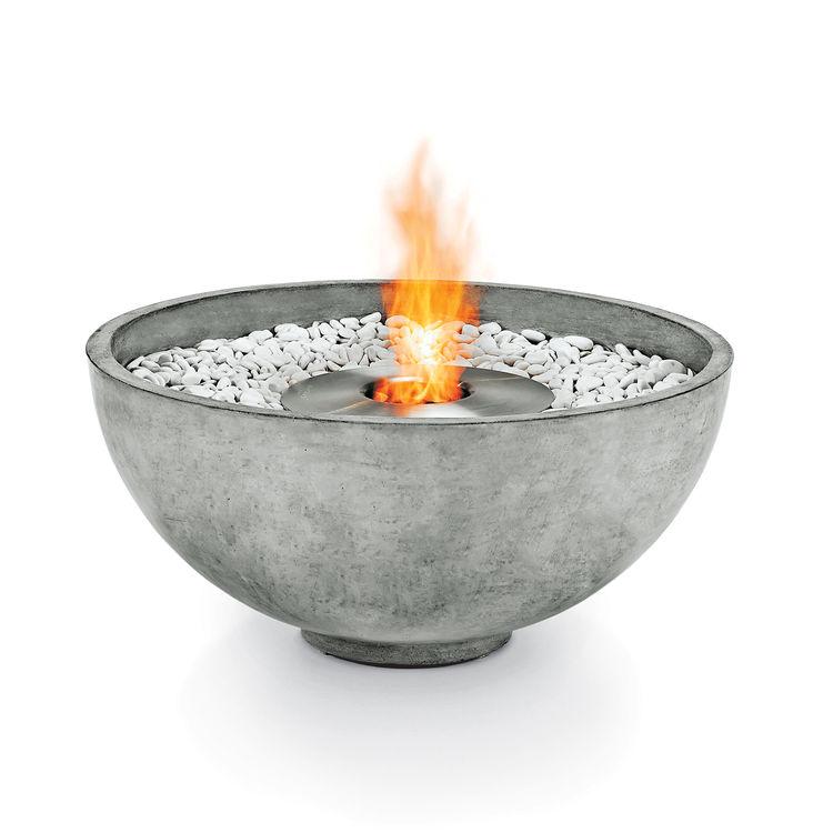 urth fire pit brown jordan concrete