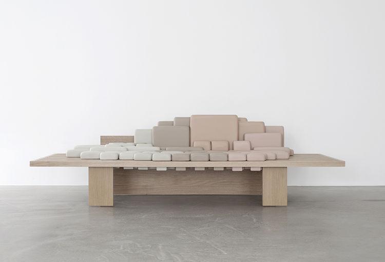 modern design young guns 2014 Benjamin Graindorge sofascape sofa